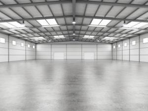 Epoxy Flooring in an Airplane Hangar | Floorguard.com