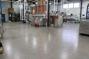 Epoxy Flooring in a Distillery Production Space | Floorguard.com