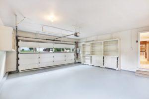 White Interior Garage with Epoxy Floors | Floorguard.com