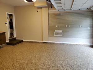 Concrete Floor Inside of a Closed Garage | Floorguard.com