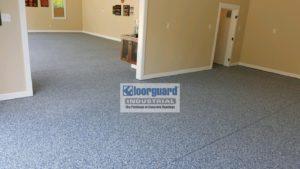 Epoxy Concrete Floor Inside a Home's Interior | Floorguard.com